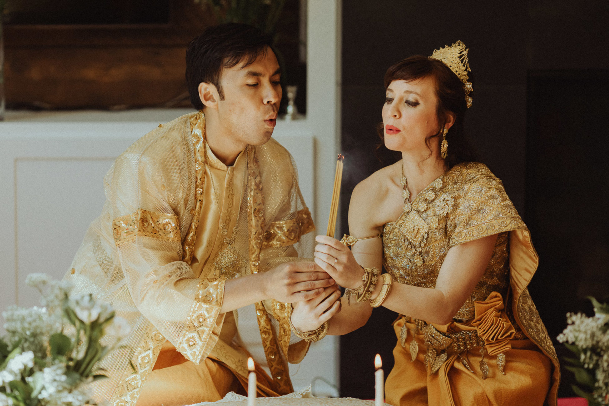 Cambodian Tea Ceremony wedding in Portland, Oregon