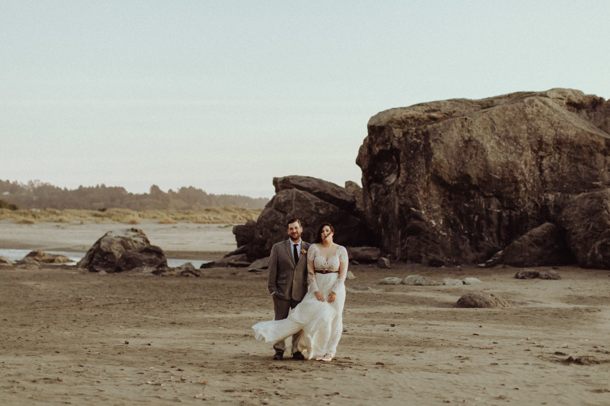 Patrick's Point wedding near Trinidad, California